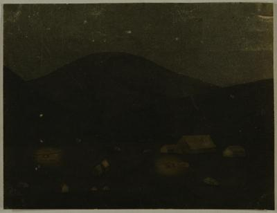 Painting; Night on the Tuapeka