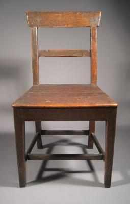 Chair, made by John Hill, 1851
