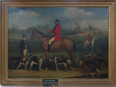Painting; Mr George Dodson on a hunt