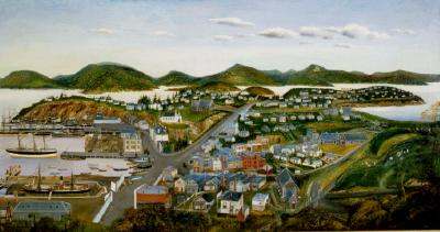 Painting; Port Chalmers