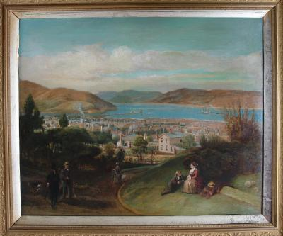 Painting; Dunedin, after 1863