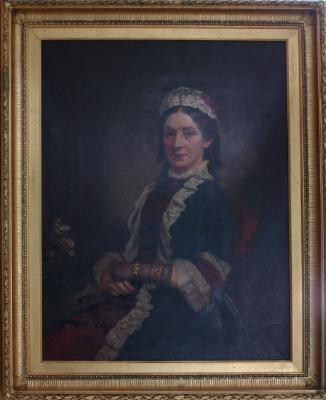 Painting; Mrs John Reid