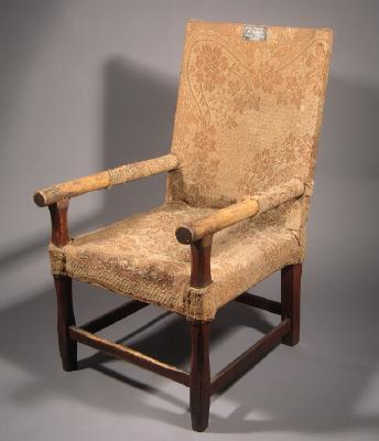 Arm chair, made by James Matheson, 1860s