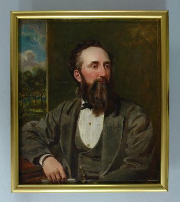 Painting; Mr Arthur J. Burns