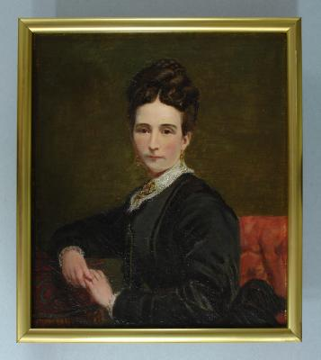Painting; Mrs Arthur J. Burns