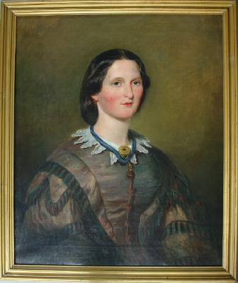Painting; Mrs Robert Cowie (nee Agnes Goudy Halcrow)