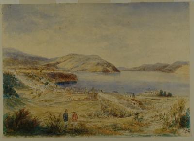 Painting; Dunedin, 1860