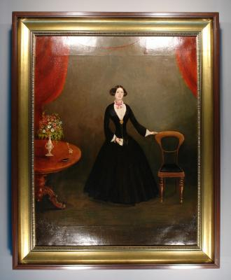 Painting; Mrs William McDiarmid (nee Christiana McLeod)