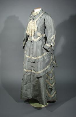 Day dress, 1870s