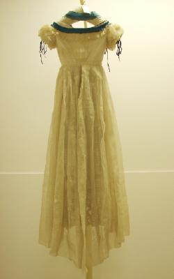 Ball gown, circa 1861