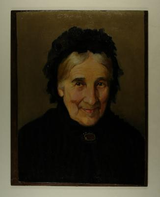 Painting; Mrs George Pow