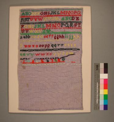 Cotton sampler (unfinished)