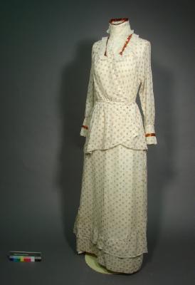 Day dress, 1905-1910