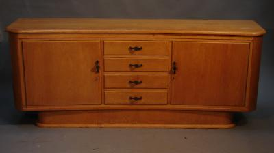 Dutch style oak sideboard