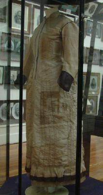 Wedding dress; Mary Taylor, 1875