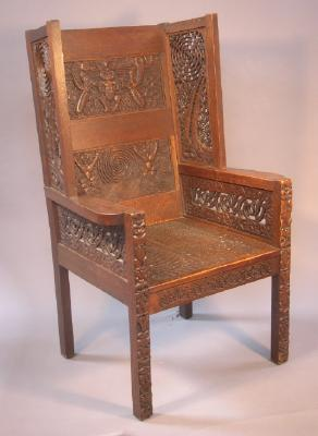 Chair; Maori design