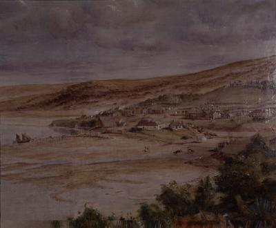Painting; Dunedin, 1856