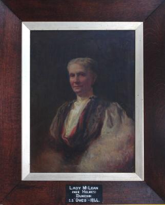 Painting; Lady Mclean (nee Holmes)