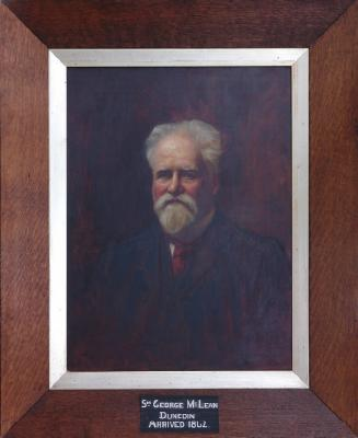 Painting; Sir George McLean