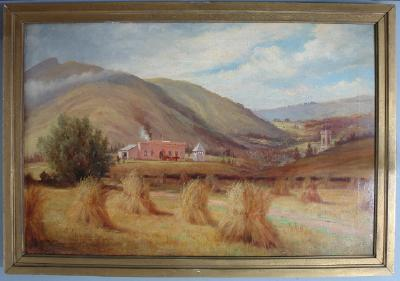 Painting; Wairongoa Settlement